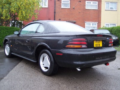 Mustang Rear View
